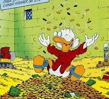 scrooge happy