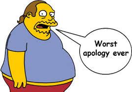 worst apology