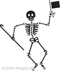 dacing skeleton